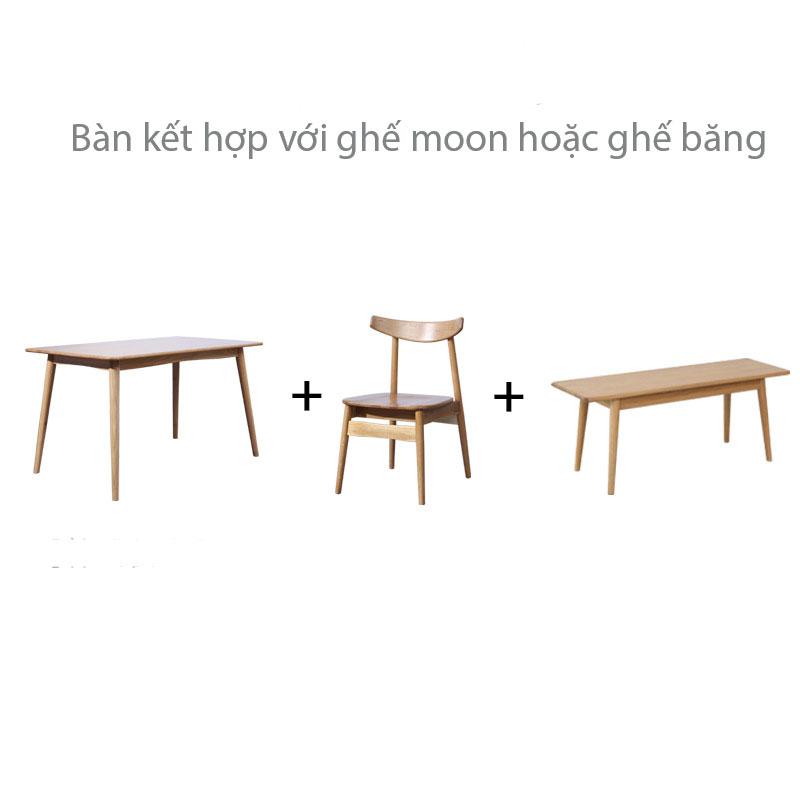 bàn mango kết hợp với ghế mango và ghế băng