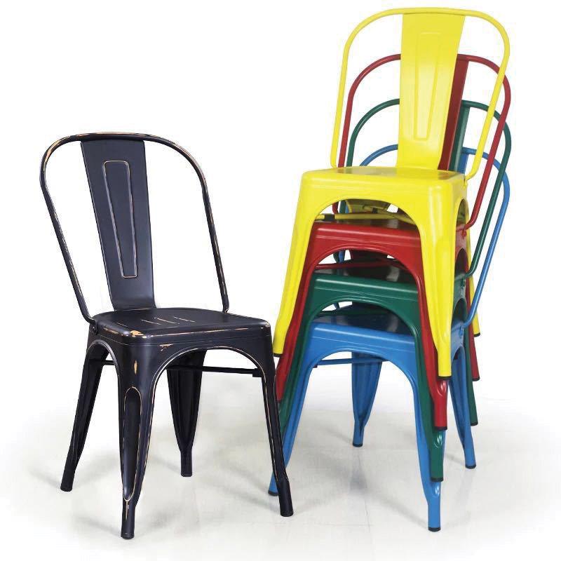 Cấu tạo ghế sắt tolix giá rẻ