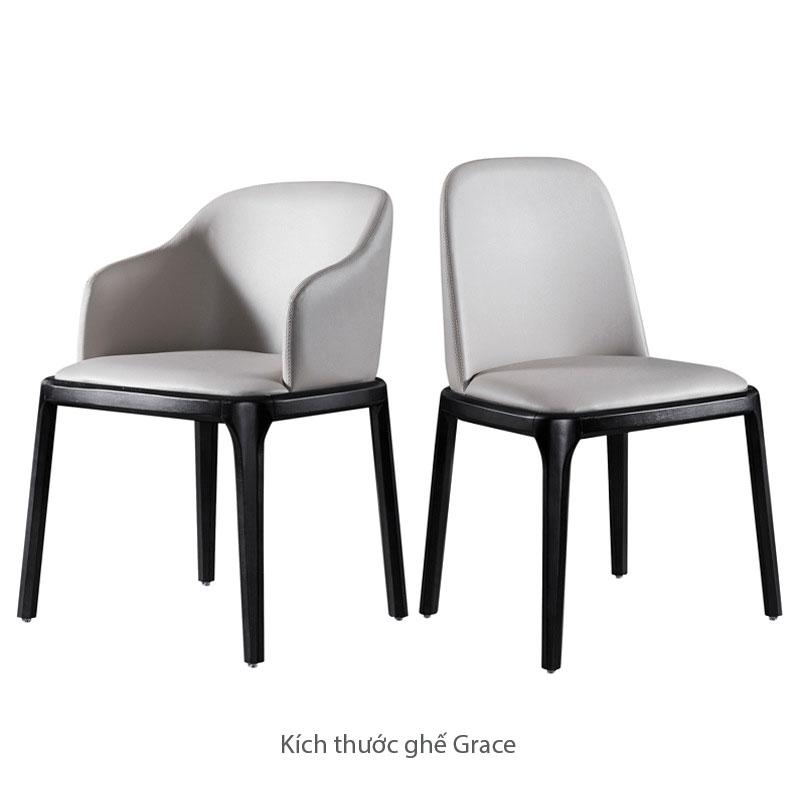 ghế grace có tay và không tay