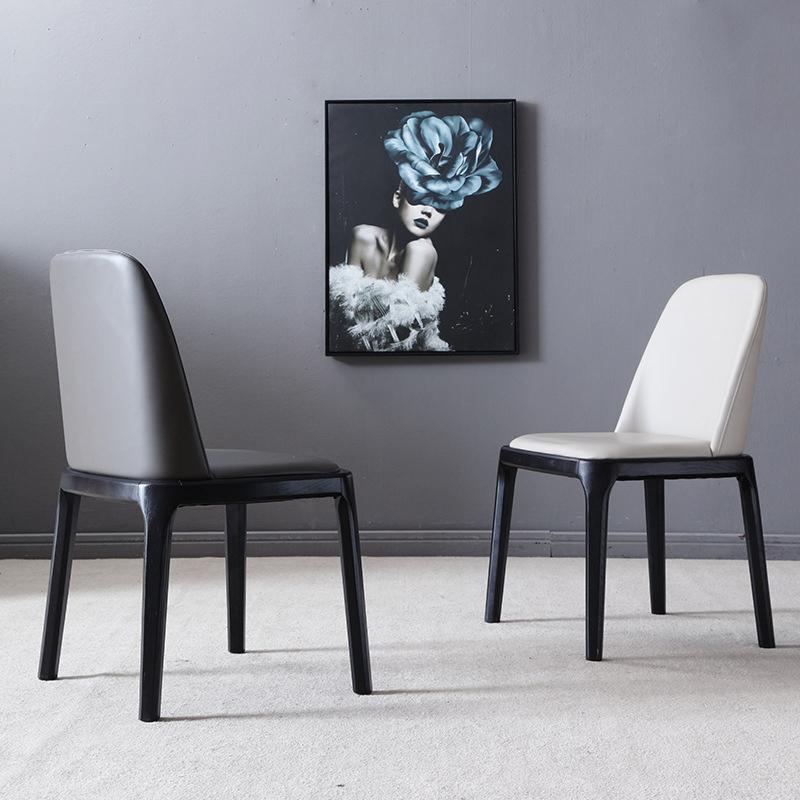 ghế đen trắng