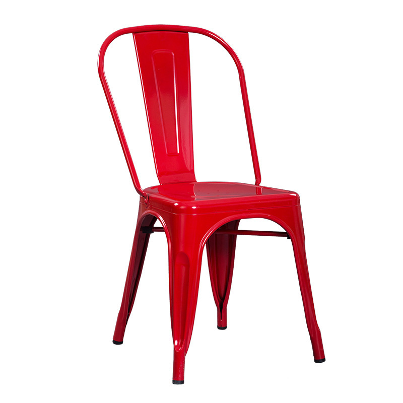 ghế Tolix màu đỏ