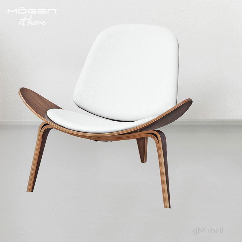 ghế da màu sáng