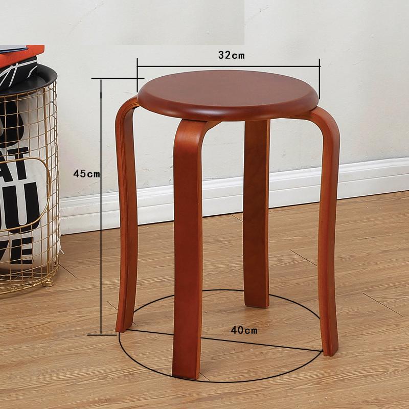 kich thước ghế đôn gỗ