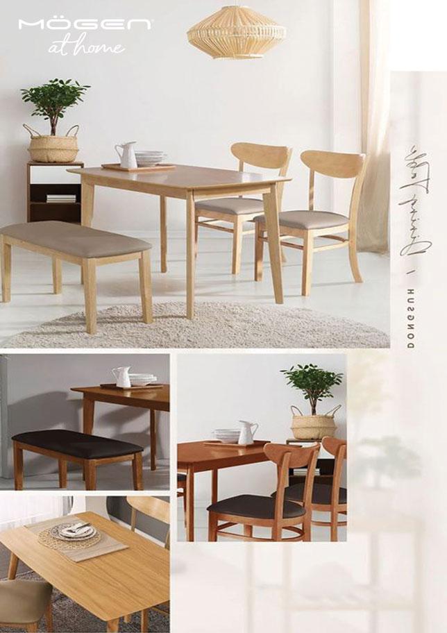 chất liệu bàn ghế