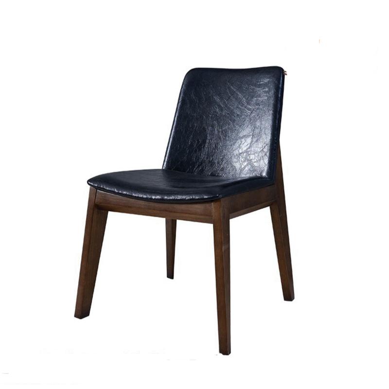ghế bọc da màu đen