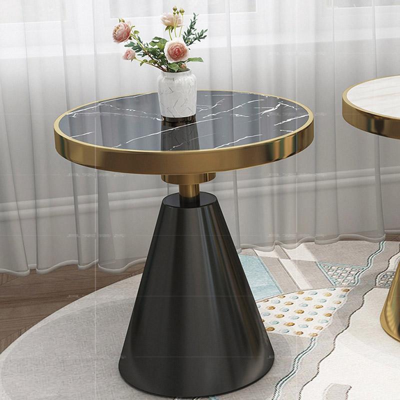 mẫu bàn sử dụng Inox 304 mạ đen ốp sang trọng