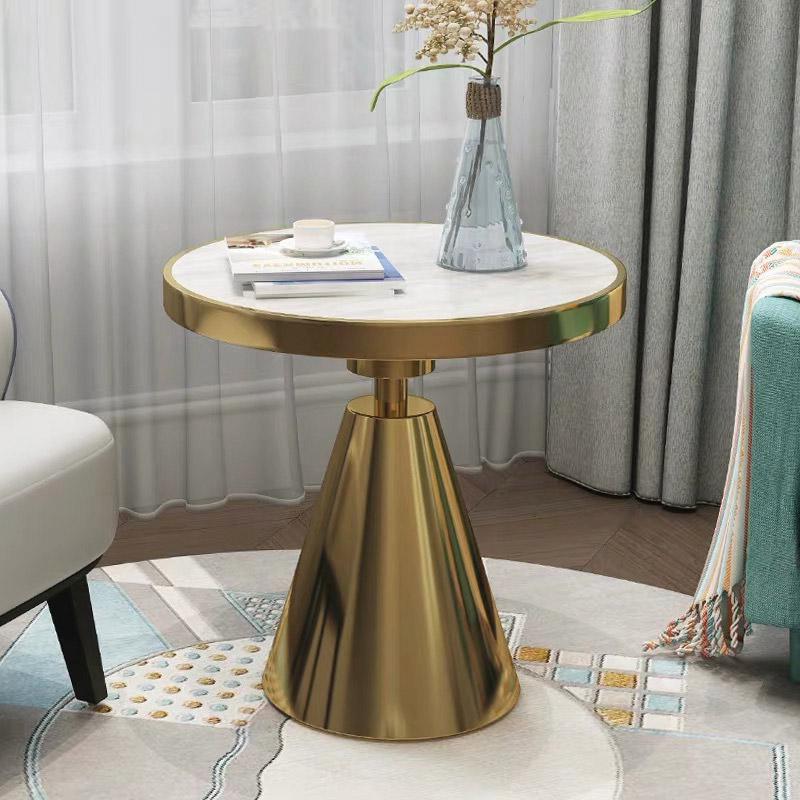 mẫu bàn sử dụng Inox 304 mạ vàng ốp