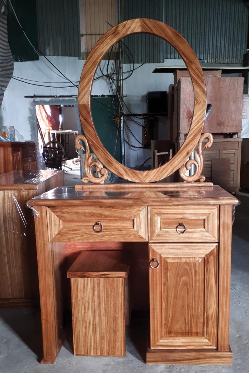 bàn gỗ hương đá kích thước 80cm