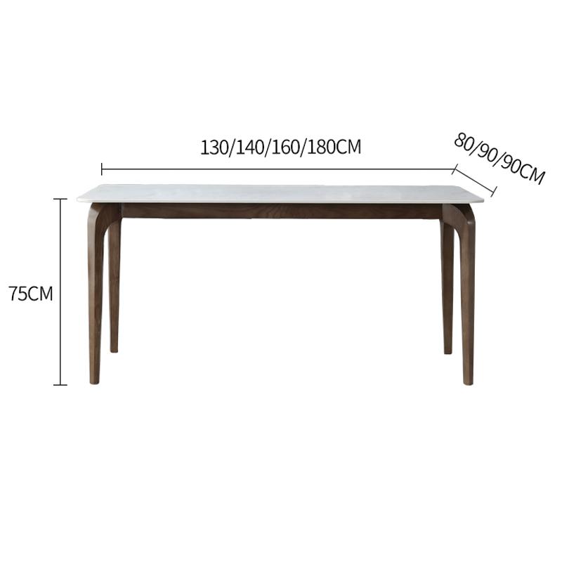 kích thước bàn ăn