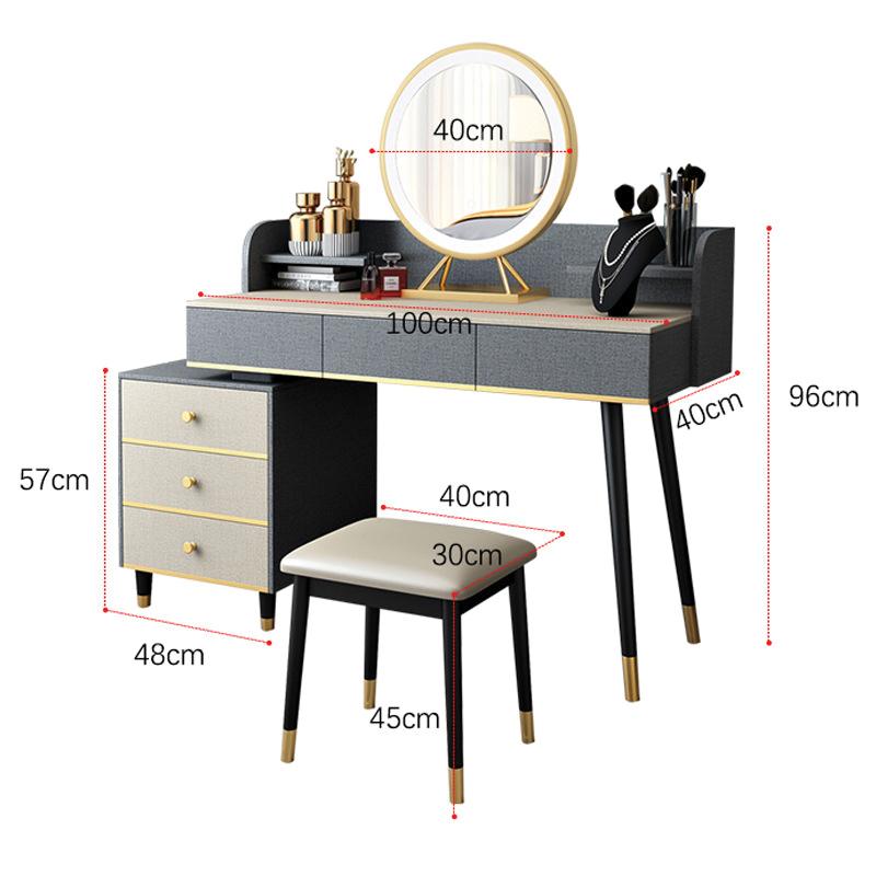 Kích thước tiêu chuẩn bàn trang điểm