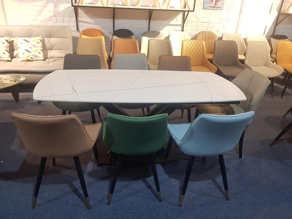 Mẫu bàn ăn 6 ghế sang trong