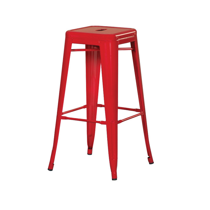 ghế sơn tĩnh điện màu đỏ