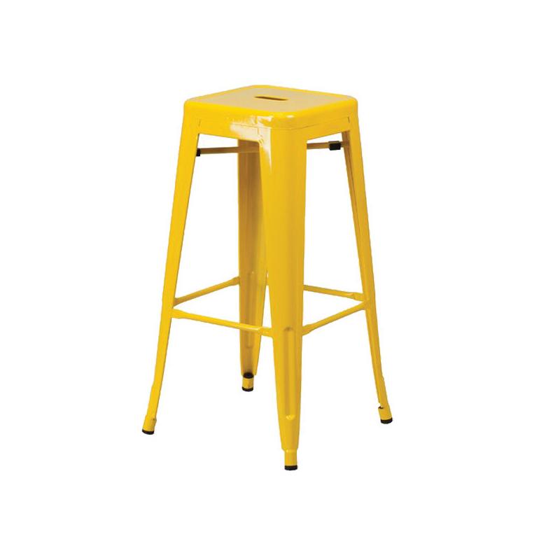 ghế sơn tĩnh điện màu vàng
