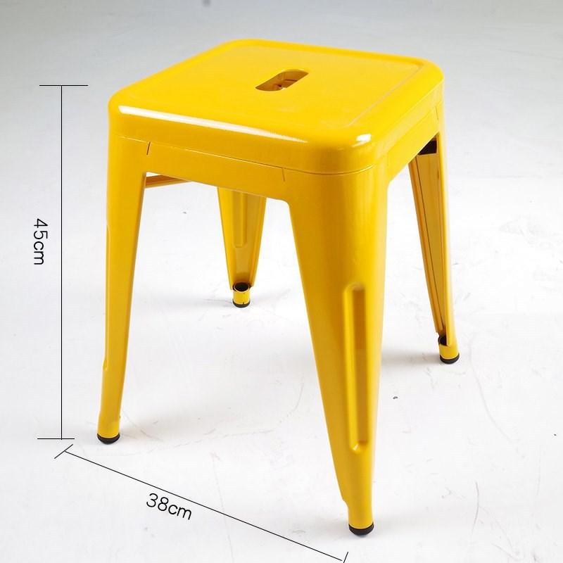 ghế đôn màu vàng