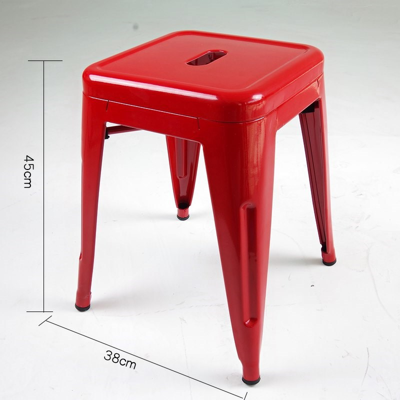 ghế đôn màu đỏ