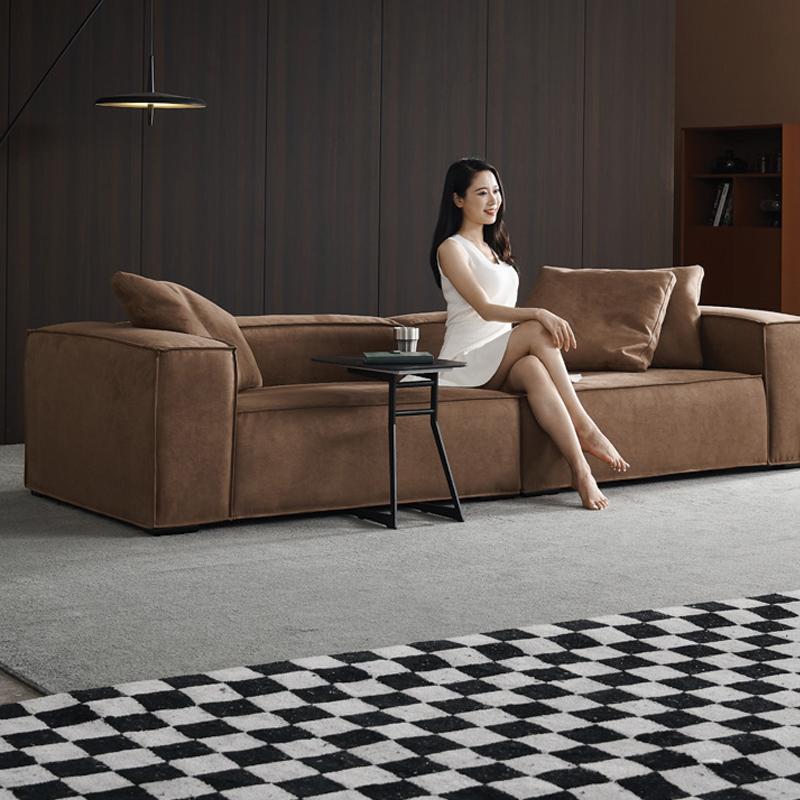 sofa nỉ phòng khách nhỏ