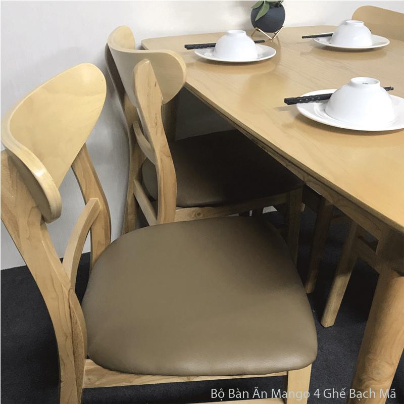 chất lượng ghế ăn mango