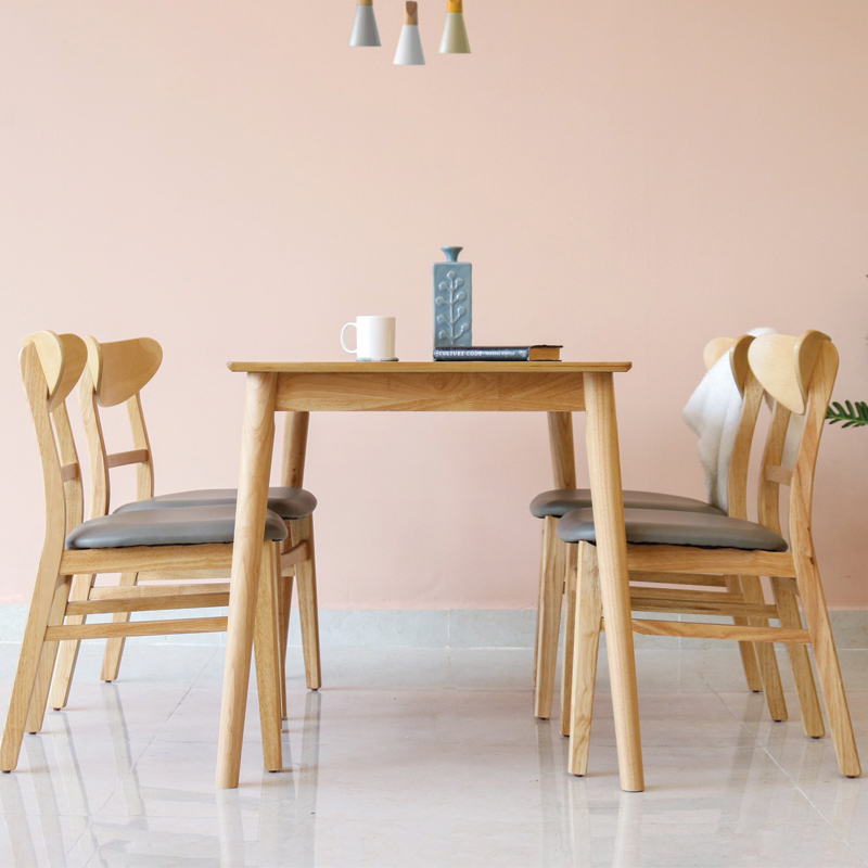 mẫu bàn ghế ăn 4 ghế bán chạy nhất hiện nay