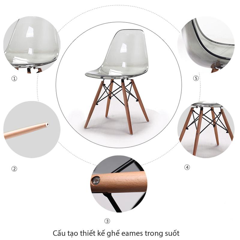 cấu tạo thiết kế chi tiết của ghế