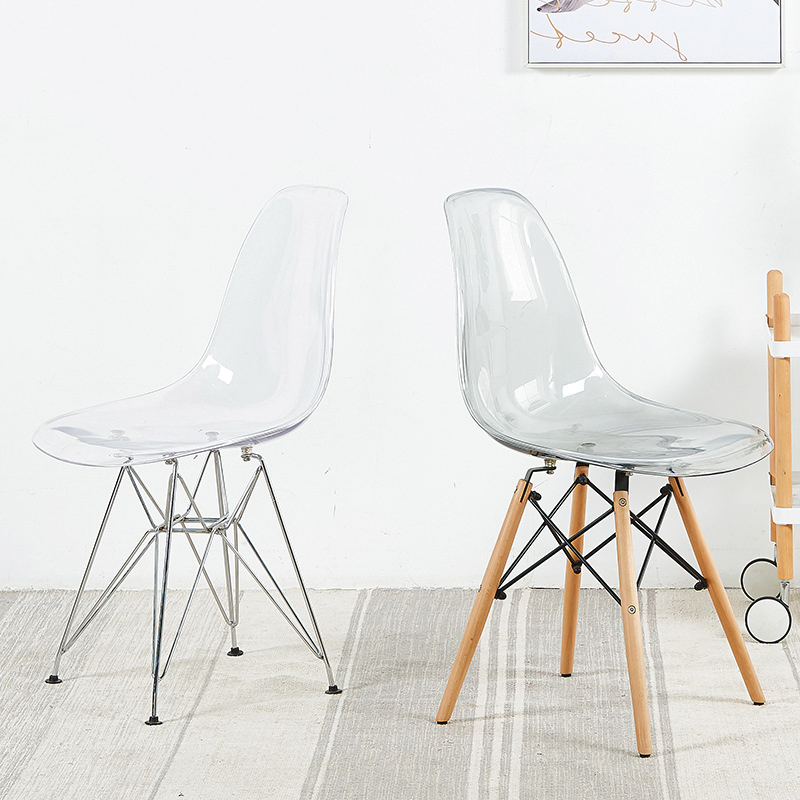 Ghế Eames Trong Suốt