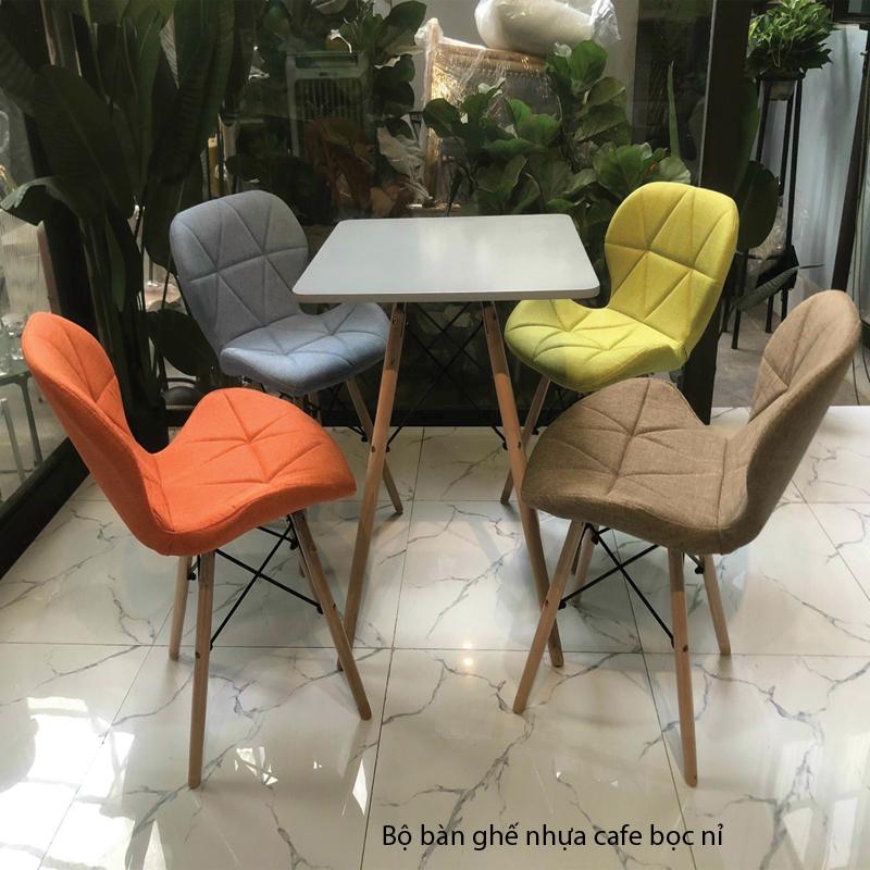 Bộ bàn ghế eames cafe