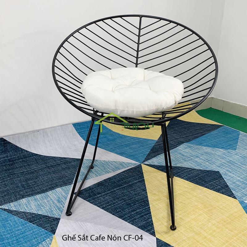 Ghế Nón Sắt sơn tĩnh điện CF-04