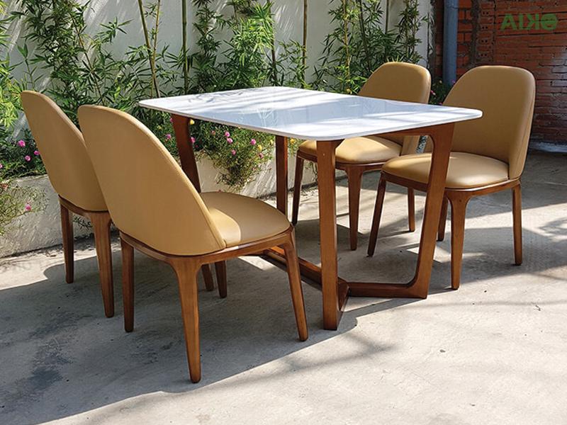 bộ 4 ghế grace chất liệu gỗ sồi cao cấp