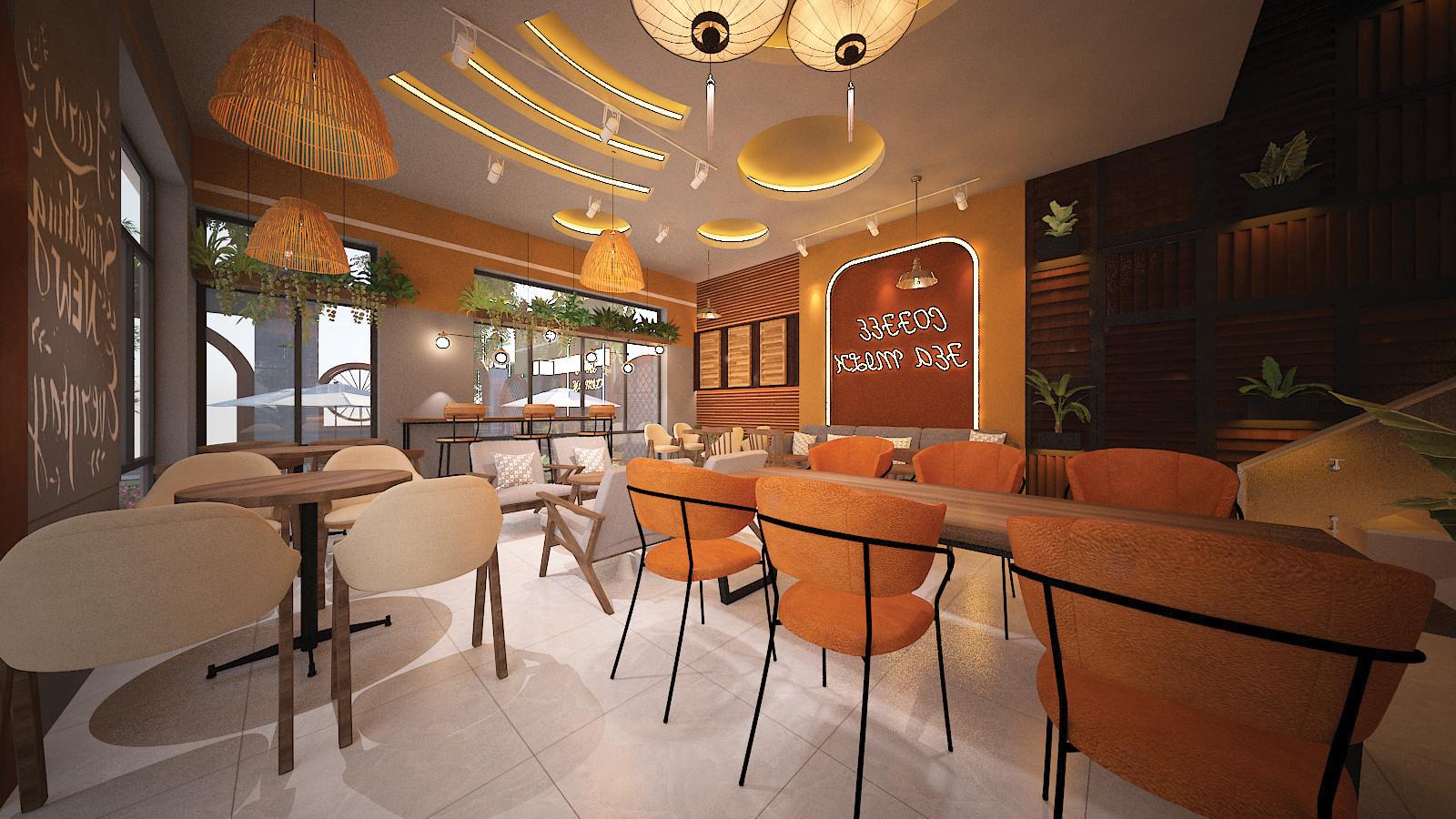 Vật dụng decor trong quán cà phê