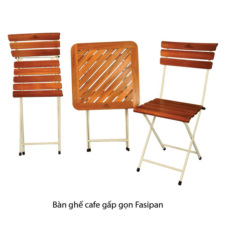 bàn ghế ngoại thất thiết kế gấp gọn thông minh