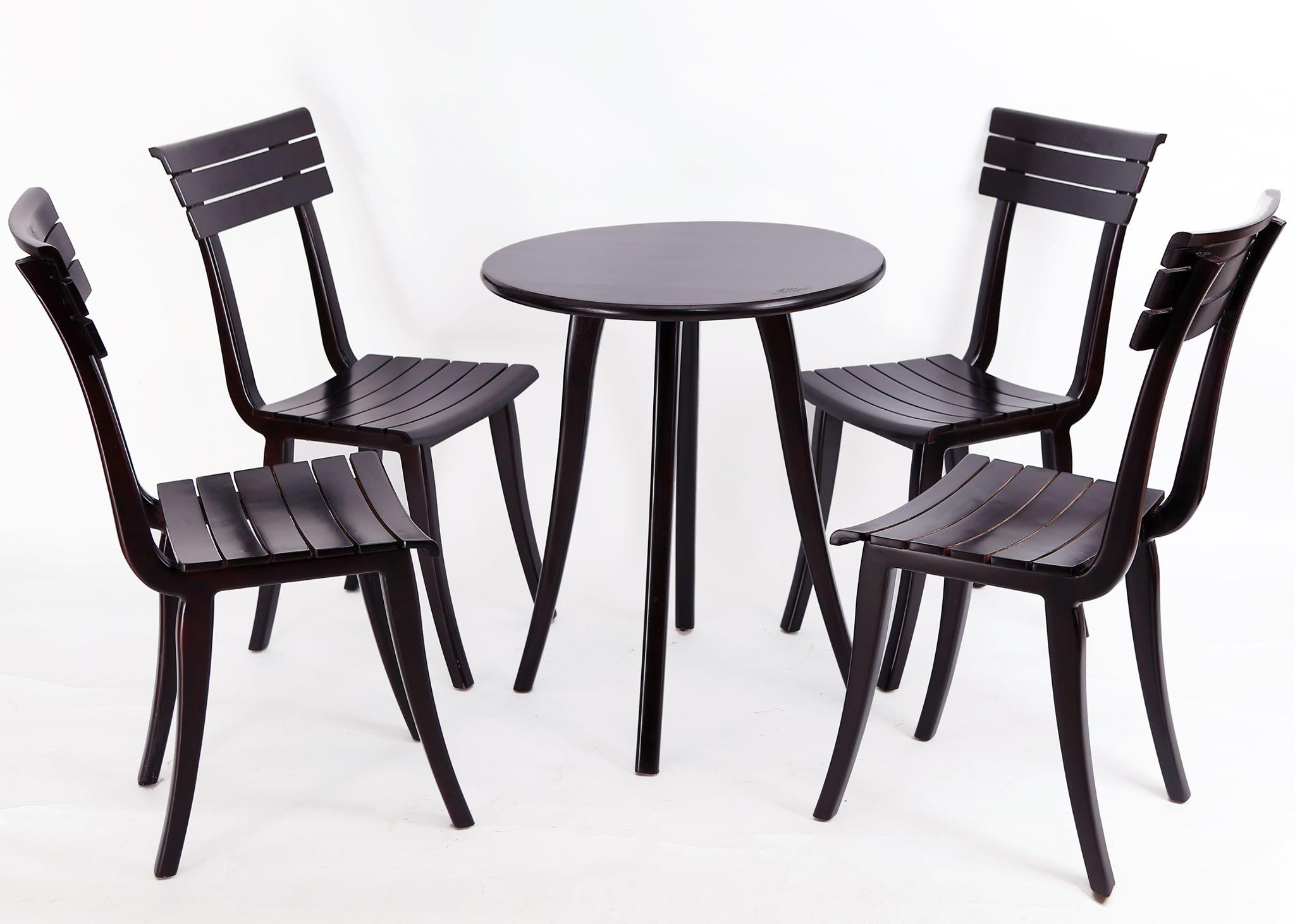 bộ bàn 4 ghế cafe