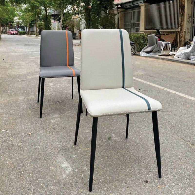 ghế màu sáng màu ghi