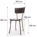 kích thước của ghế kite