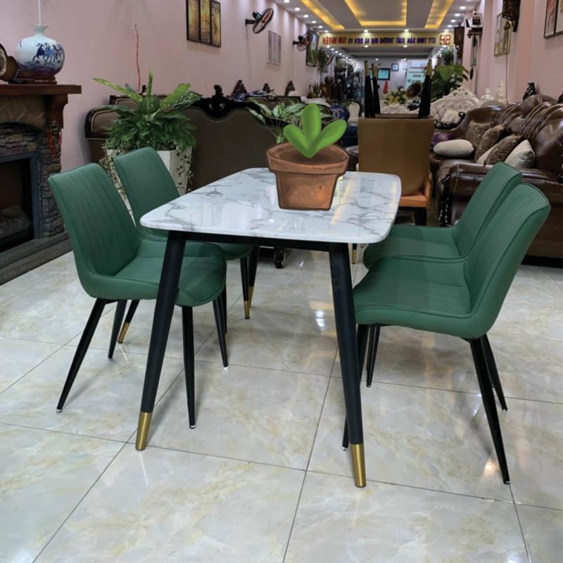 mẫu 6 ghế mặt đá