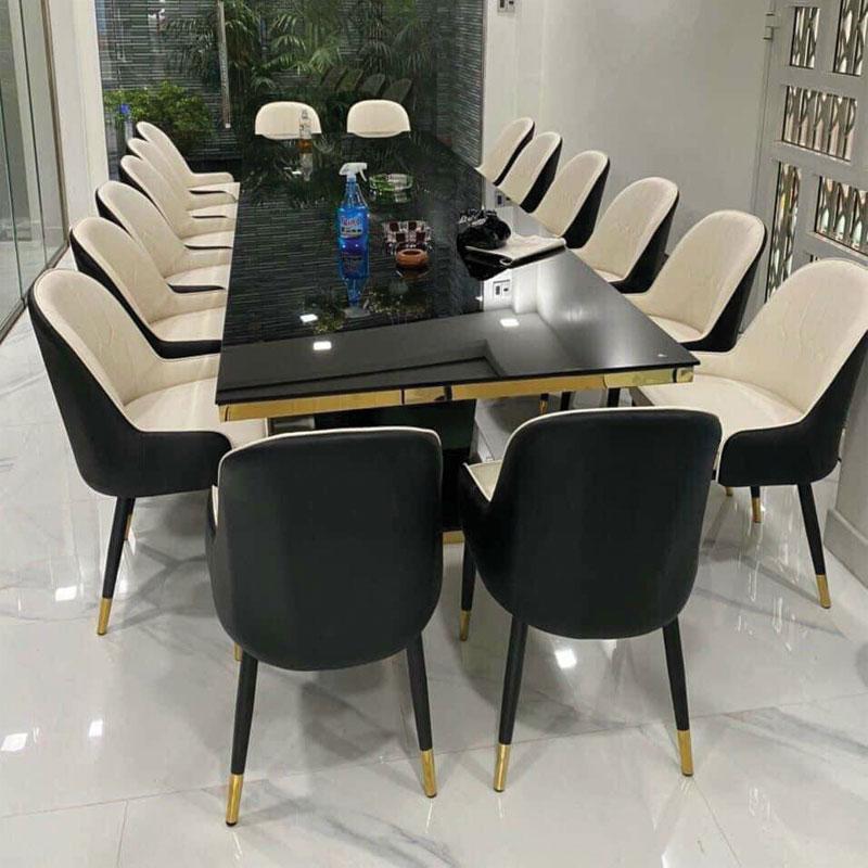 xu hướng thiết kế dòng bàn với 20 người ngồi