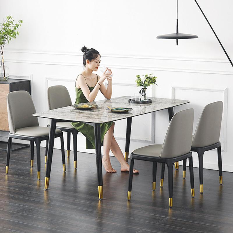 bàn ăn 6 ghế thông minh