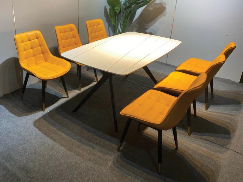 thiết kế bàn ăn theo phong cách hiện đại