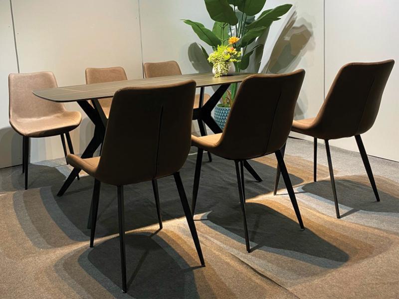 bàn ghế khung thép sơn tĩnh điện