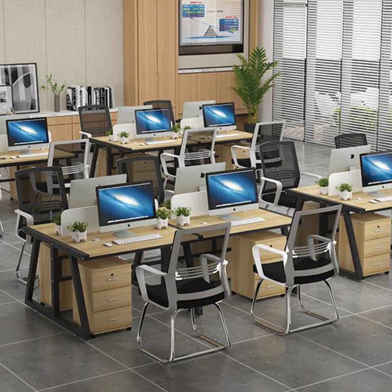 thiết kế cụm bàn làm việc theo yêu cầu