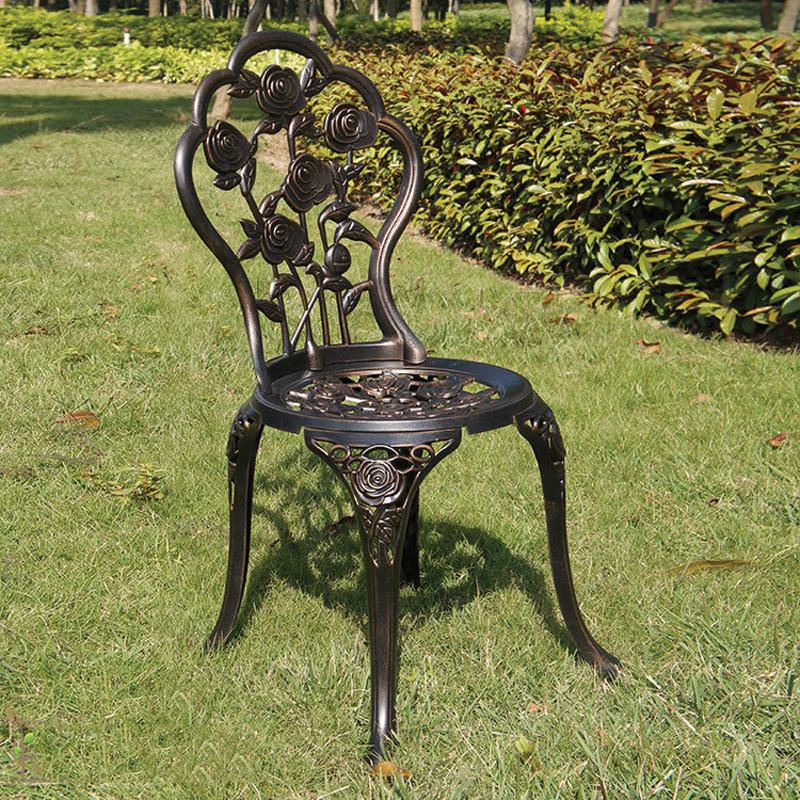 ghế nhôm đúc sân vườn