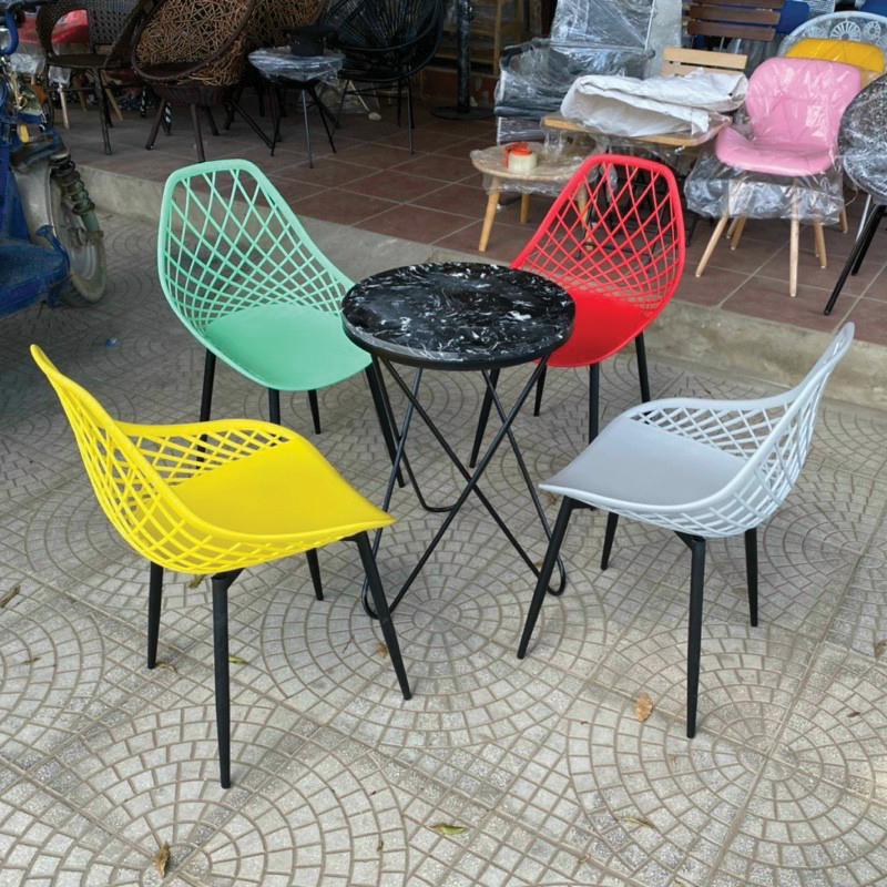 ghế sắt cafe
