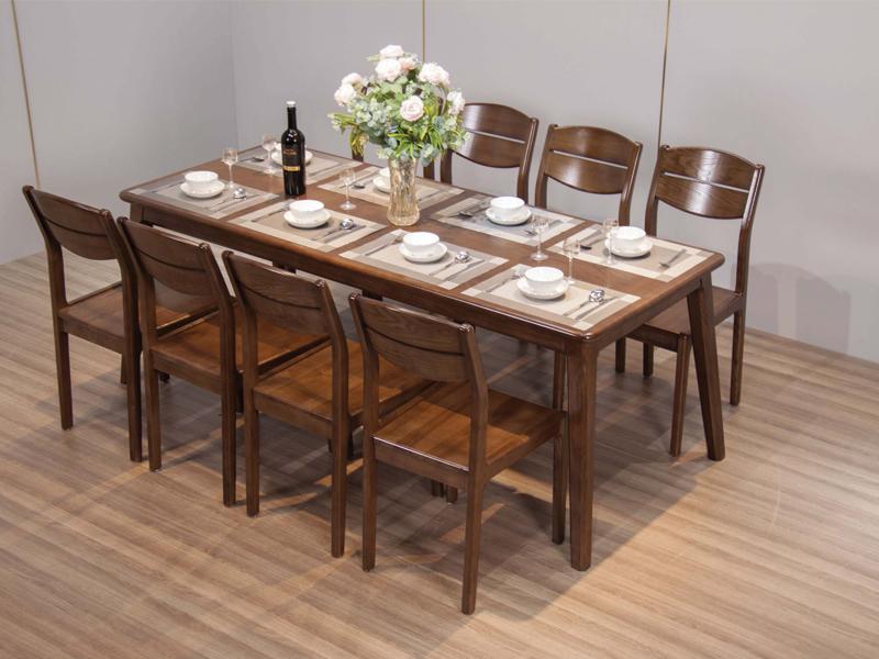 cách chọn bàn ăn 8 ghế