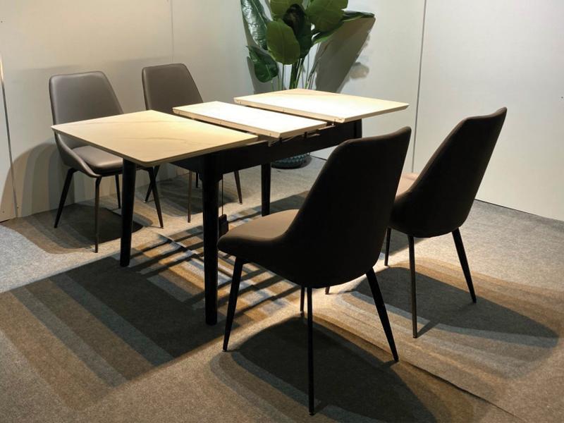 thiết kế bàn gấp gọn kéo dài