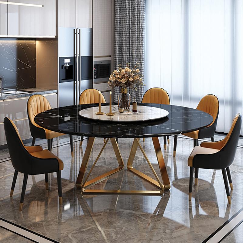 bộ bàn ăn tròn cho 6 người ăn