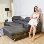 Ghế Sofa Da Chữ L 2.8M