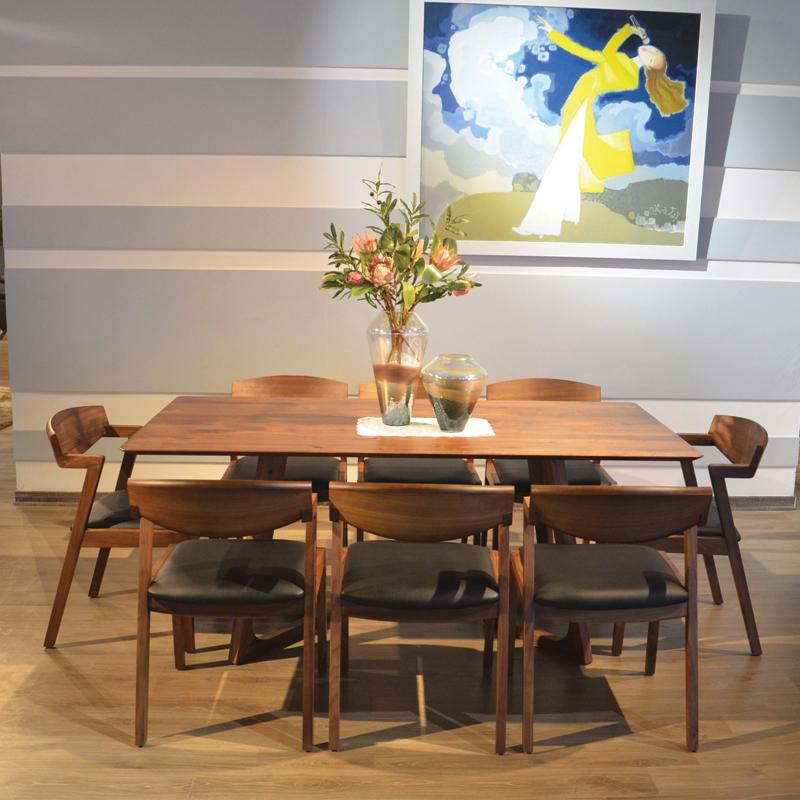 Thông số kích thước bàn ăn 6 ghế